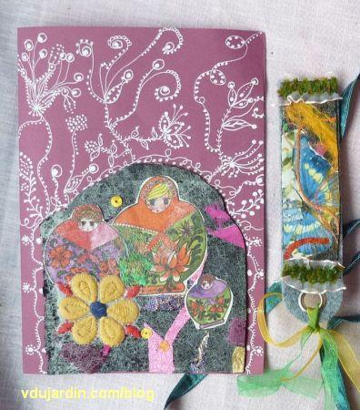 Noël 2012 par Mamazerty, 2, carte et marque-page maison