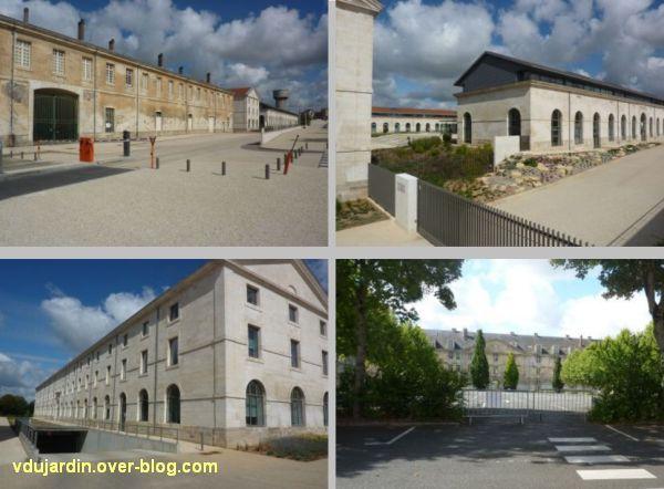 Niort, l'ancienne caserne Duguesclin, 2, réhabilitations de l'université et du conseil général
