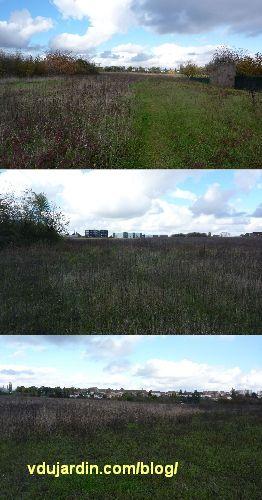 Poitiers, terrain entre les Montgorges et la Chauvinerie, emplacement du Fronstalag 230