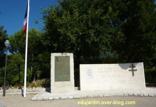 Monument de la résistance de La Rochelle, vue générale