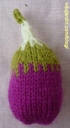 Une figue au tricot