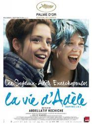 Affiche de La vie d'Adèle de Abdellatif Kechiche