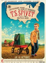 Affiche de L'extravagant voyage du jeune et prodigieux T.S. Spivet, de Jean-Pierre Jeunet