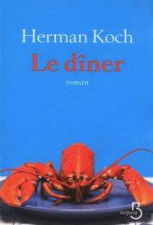 Couverture de Le dîner de Herman Koch