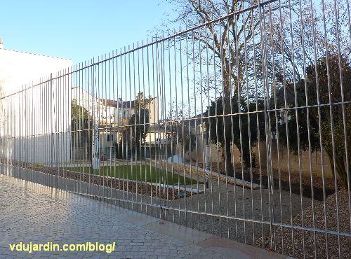 Jardin du Puygarreau à Poitiers, Tourne-sol de Elisabeth Ballet