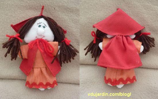 Le petit chaperon rouge, avec sa capuche