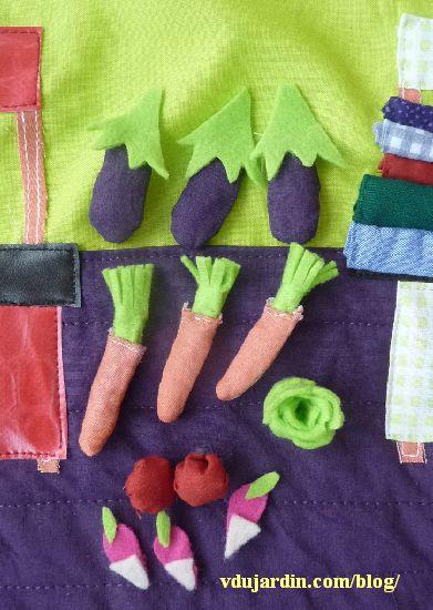Haricot magique, page 3, les légumes