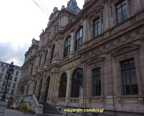 Lyon, le palais du commerce, façade