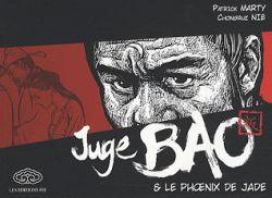 Couverture de Juge Bao et le Phoenix de Jade, de Patrick Marty et Chongrui Nie