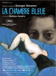 Affiche de La chambre bleue de Mathieu Amalric