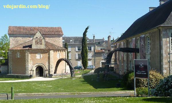 Flux de Rainer Gross à Poitiers, installation en cours en avril 2014