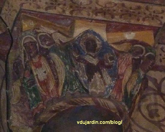 Poitiers, Notre-Dame-la-Grande, Ascension du Christ, vue de face