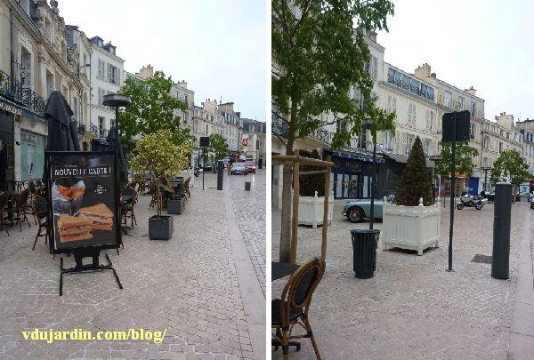 Poitiers rue Carnot, problème d'accès à une terrasse