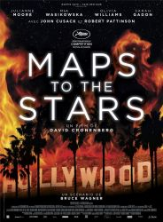 Affiche de Maps to the stars, de David Cronenberg