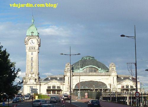 La gare de Limoges, vue rapprochée