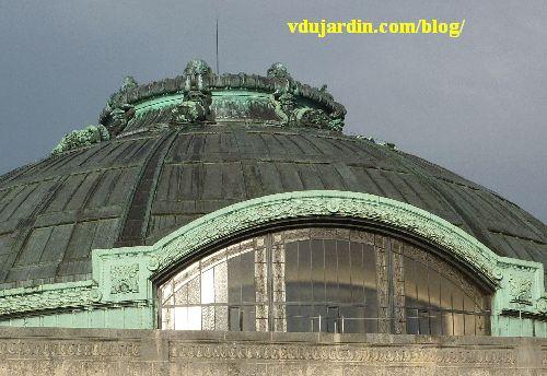 La gare de Limoges, vue extérieure du dome