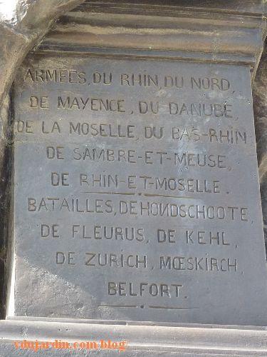 Le général Lecourbe par Antoine Étex à Lons-le-Saunier, exploits de Lecourbe