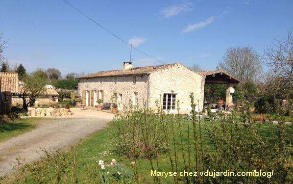 la ferme d'Adorise dans les Deux-Sèvres