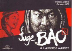 Couverture de Juge Bao et l'auberge maudite, de Patrick Marty et Chongrui Nie