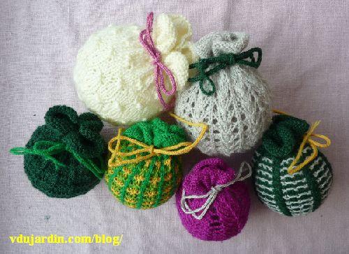 Mes six premières tricoboules