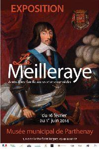 Affiche de l'exposition sur La Meilleraye au musée de Parthenay, 2014