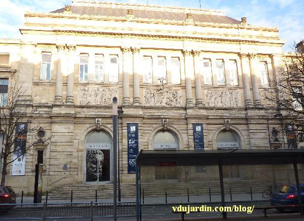 Bordeaux, façade du musée d'Aquitaine