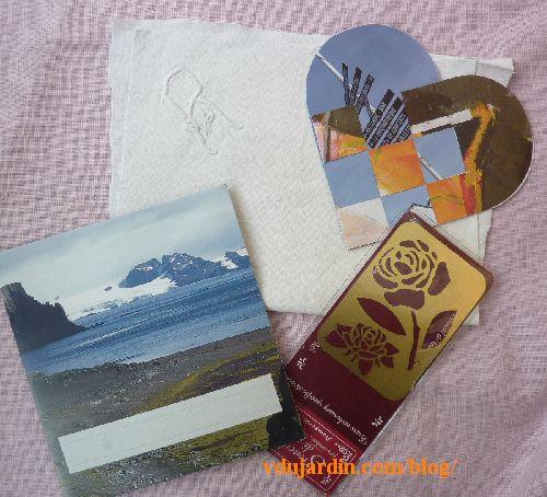 Dalinele, juillet 2014, enveloppe, coeur, monogramme R, pochoir