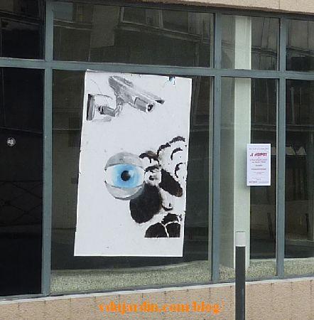 Poitiers, mouton avec vidéo-surveillance