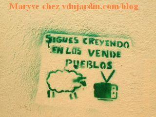 Mouton peint au pochoir trouvé par Maryse au Mexique_mexique