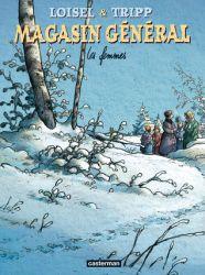 Couverture de Les femmes, tome 8 du Magasin général de Tripp et Loisel