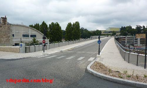 Le viaduc des Rocs à Poitiers, 12 juillet 2014, côté ouest