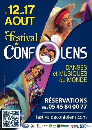 Affiche du festival de Confolens 2014