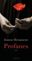 Couverture de Profanes de Jeanne Benameur