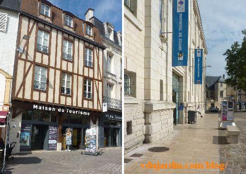 Bienvenue aux touristes à Poitiers, deux offices de tourisme