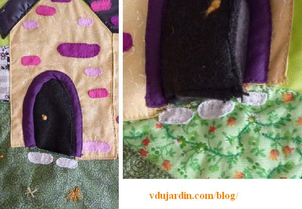 Haricot magique, pages 3 à 6, pierres de seuil