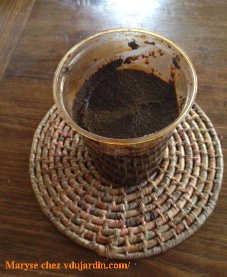 El mole negro de Oaxaca, la pâte