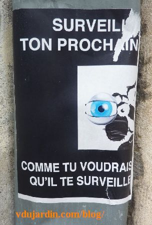 Poitiers, mouton, surveille ton prochain