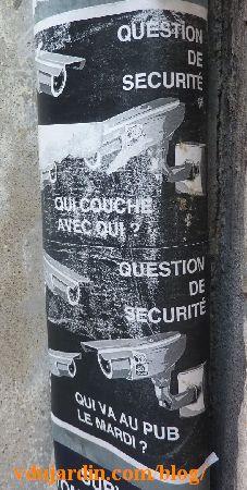 Poitiers, mouton, vidéosurveillance, qui couche avec qui?