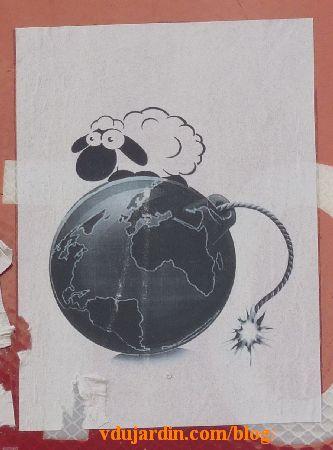 Potiiers, mouton sur une planète