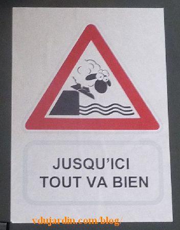 Poitiers, mouton attention à la rivière