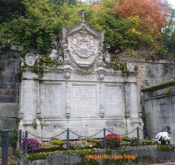 Tombeau des Kellermann au Père Lachaise à Paris