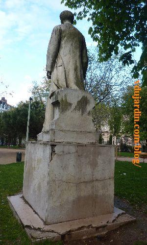Lyon, monument à Sadi Carnot, vue de dos