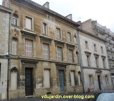 Niort, maisons des 26, 28 et 30 rue Alsace-Lorraine, 1, les deux façades