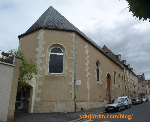 Poitiers, hôpital de la Charité, la chapelle et la M3Q