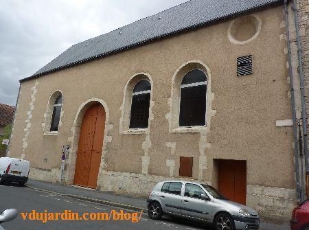Poitiers, hôpital de la Charité, la chapelle