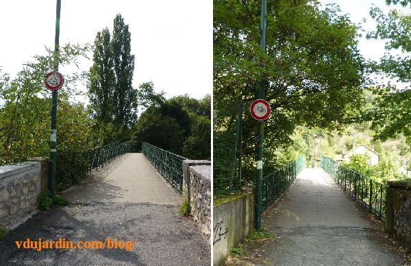 poLa passerelle de Chasseigne à Poitiers, interdite aux vélositiers_chasseigne_passerelle_sans_velo