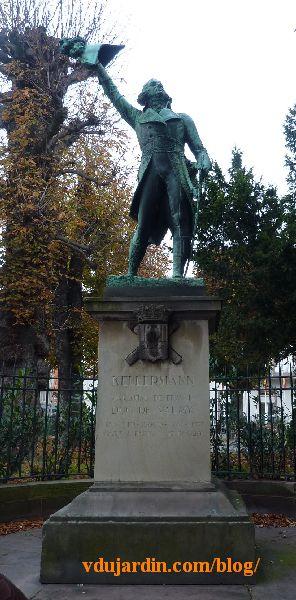 Strasbourg, le monument à Kellermann, vue d'ensemble