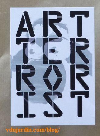 Mouton Art terrorist