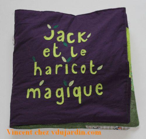 Haricot magique, la couverture