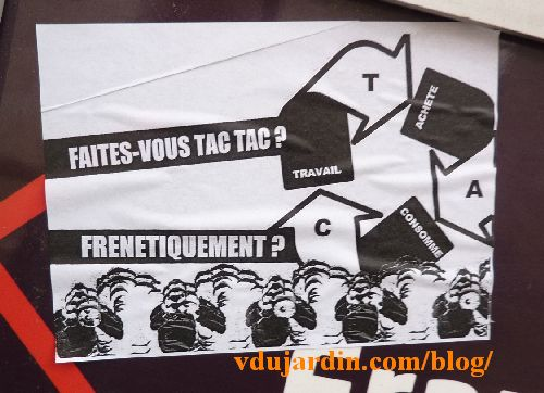 Le TAC Travaille Achete Consomme De Monsieur Mouton